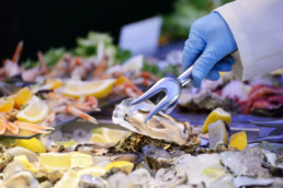 ostriche crostacei e molluschi - villa la fenice